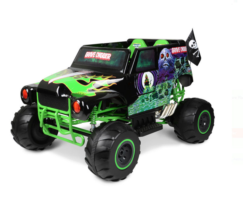 Monster Jam Grave Digger Ride-On by Power Wheels at Walmart Screen10