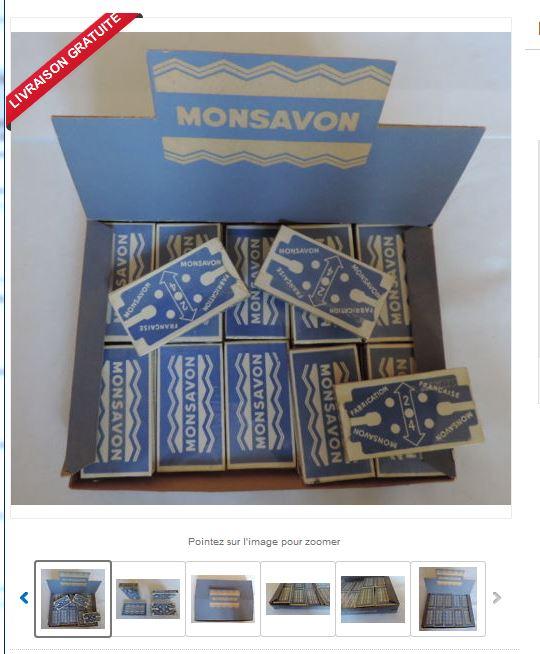 Savon à barbe Monsavon - Suif - Prix très abordable - Page 20 Lames_10