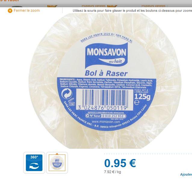 Savon à barbe Monsavon - Suif - Prix très abordable - Page 20 Monsav10