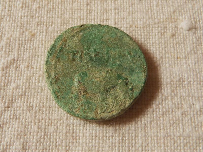 Alexandrie : obole de Tibère  Claude10