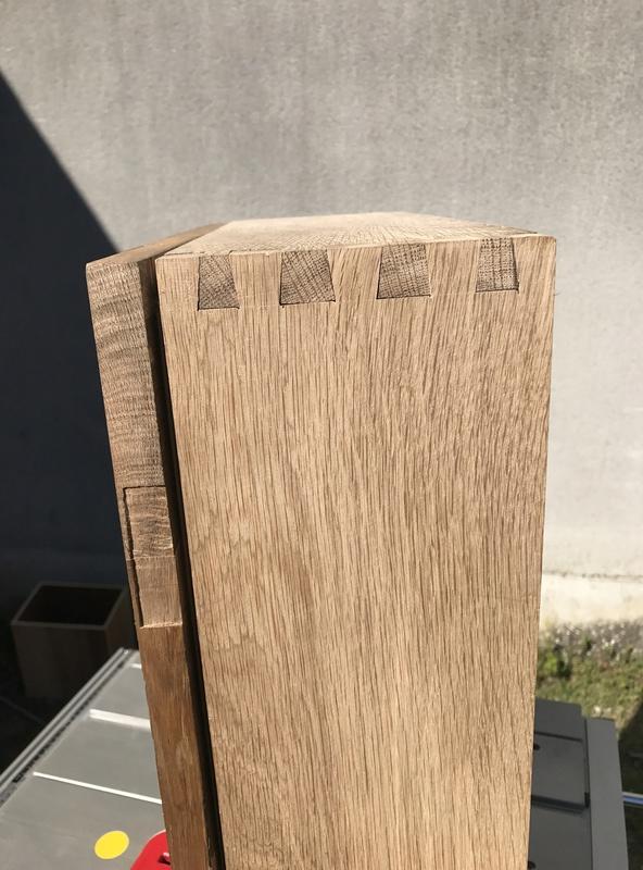Caisse à outils en chêne  95225a10