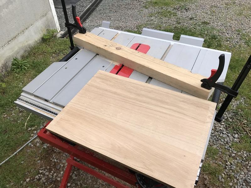 Caisse à outils en chêne  C576ca10