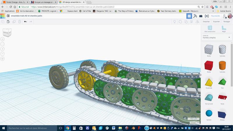 Opel Maultier échelle 1/50 en 3D Captur27