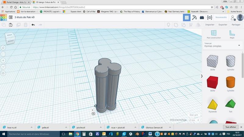 Création d'un Pak 40 avec Tinkercad (en impression 3D) Contai10