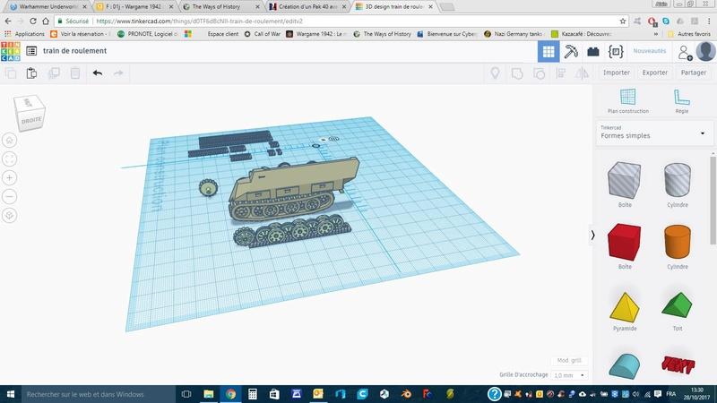 Création d'un Pak 40 avec Tinkercad (en impression 3D) Train_10
