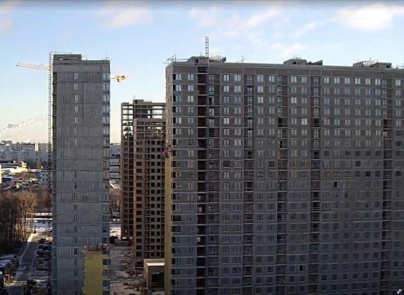 """На ЖК """"Летний сад"""" - начался монтаж фасадных конструкций! Теплозвукоизоляция под ними - лучше, чем у соседнего ЖК """"Город"""" 213"""