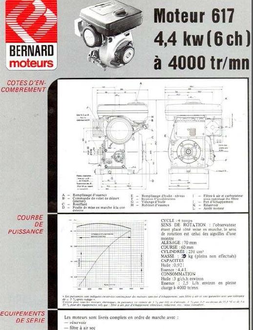 Bernard - notice bernard Moteur10