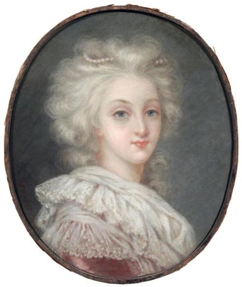Le premier portrait de Marie Antoinette peint par Vigée Lebrun? - Page 3 Tumblr10