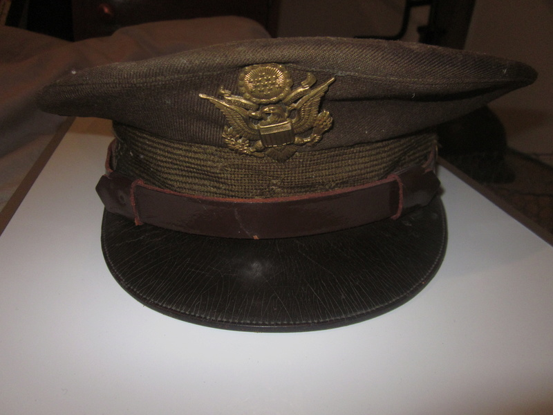 Casquette officier US ww2 Img_2863