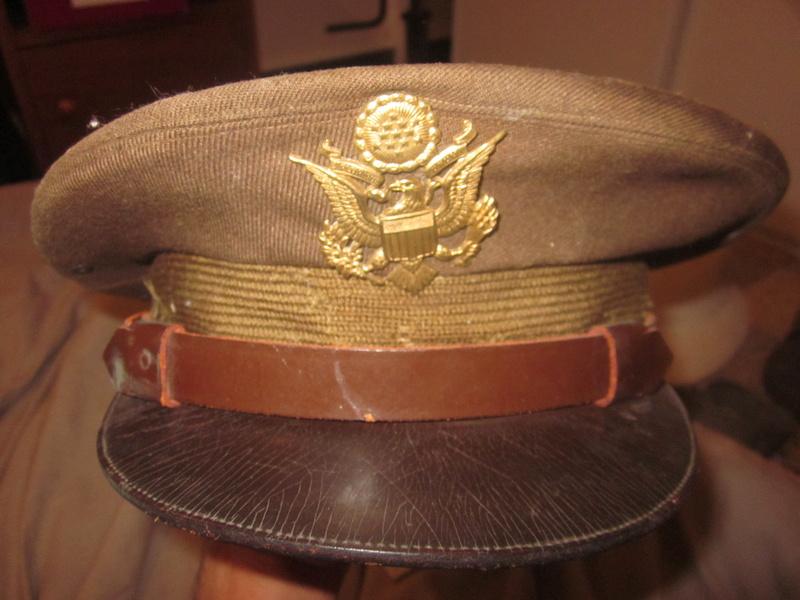 Casquette officier US ww2 Img_2866