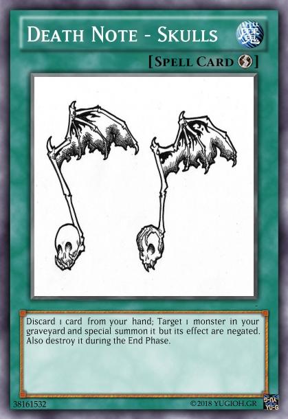 Death note Deck! Create23