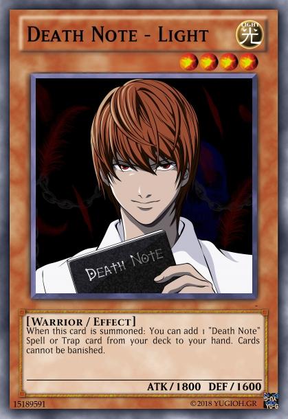 Death note Deck! Create24