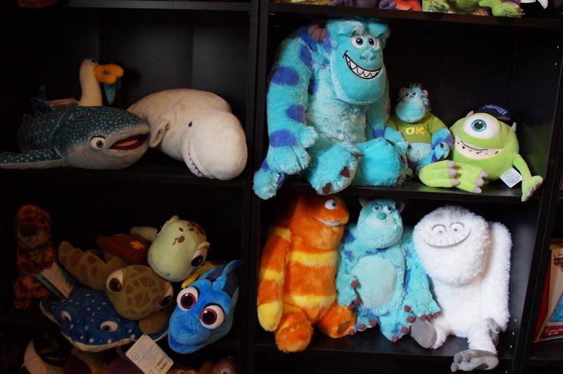 Mon musée Pixar Dsc07915