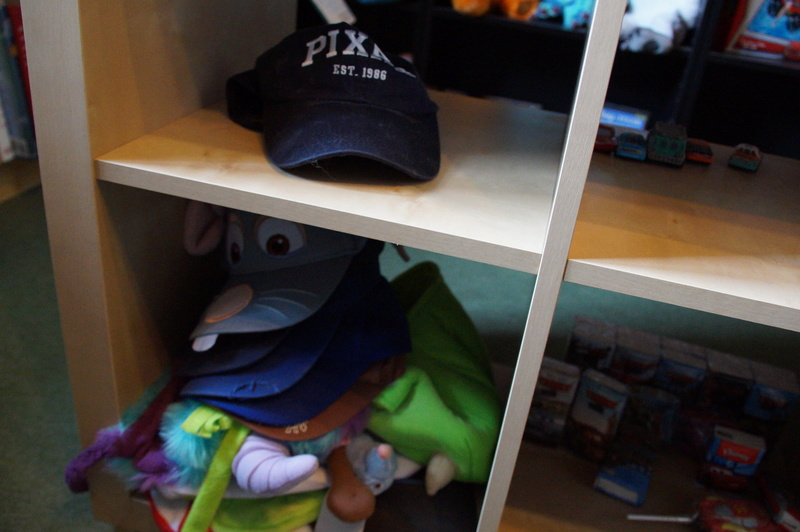 Mon musée Pixar Dsc07957