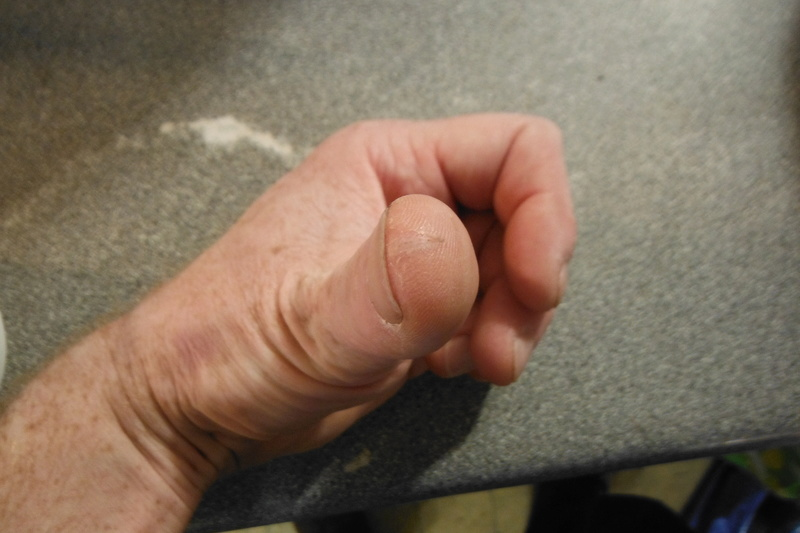 Haloween Thumb.  Dscf2711