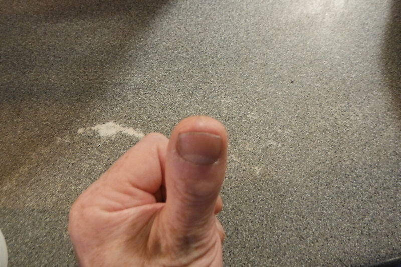 Haloween Thumb.  Dscf2712