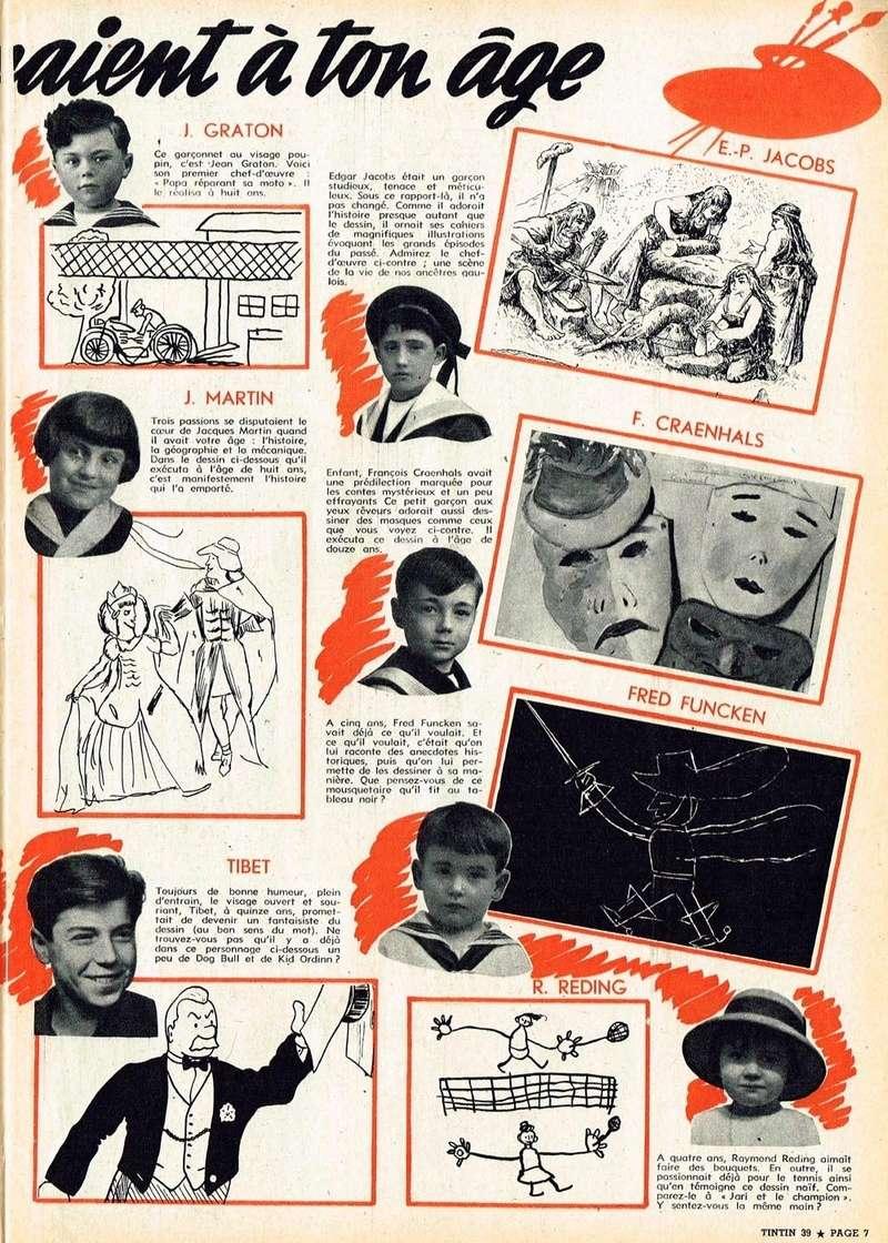 Les dessinateurs méconnus de Tintin, infos et interviews rares - Page 19 1957_n14