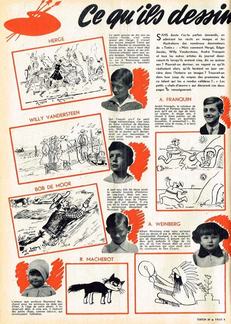 Les dessinateurs méconnus de Tintin, infos et interviews rares - Page 19 1957_n15