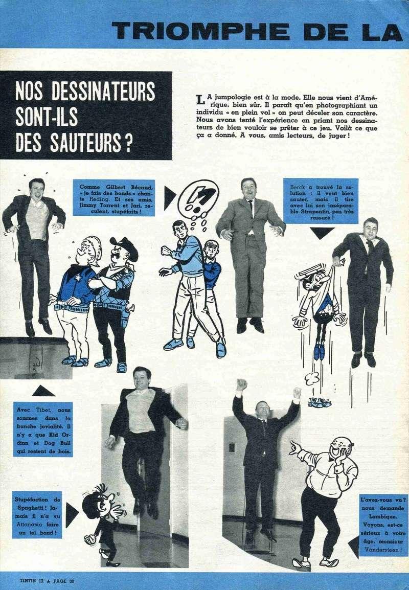 Les dessinateurs méconnus de Tintin, infos et interviews rares - Page 19 1960-111