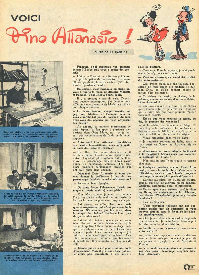 Les dessinateurs méconnus de Tintin, infos et interviews rares - Page 19 1963-114