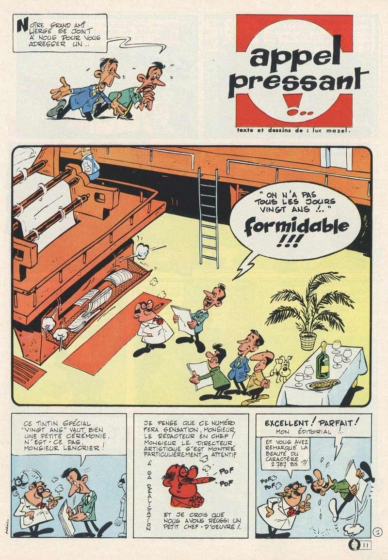 Les dessinateurs méconnus de Tintin, infos et interviews rares - Page 19 1966-310