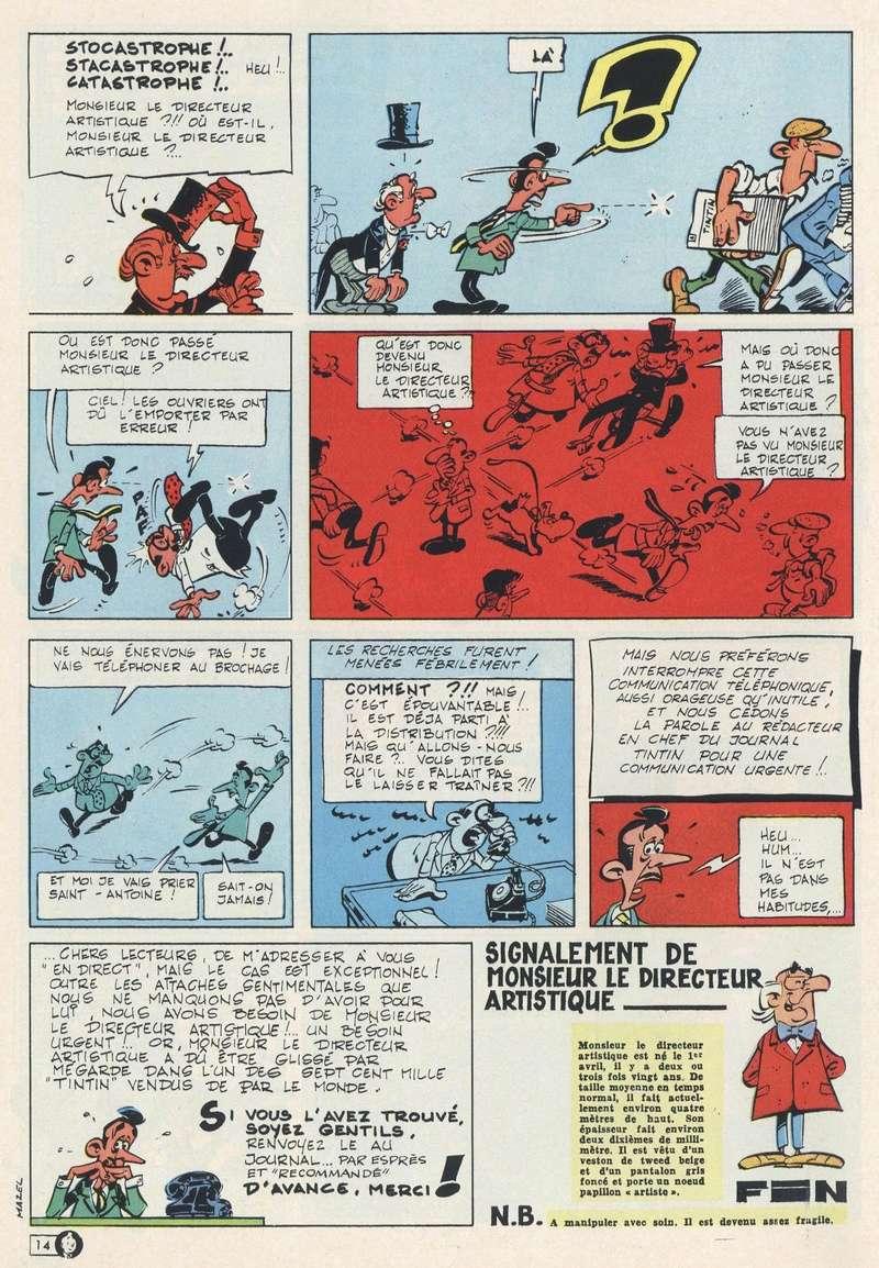 Les dessinateurs méconnus de Tintin, infos et interviews rares - Page 19 1966-313