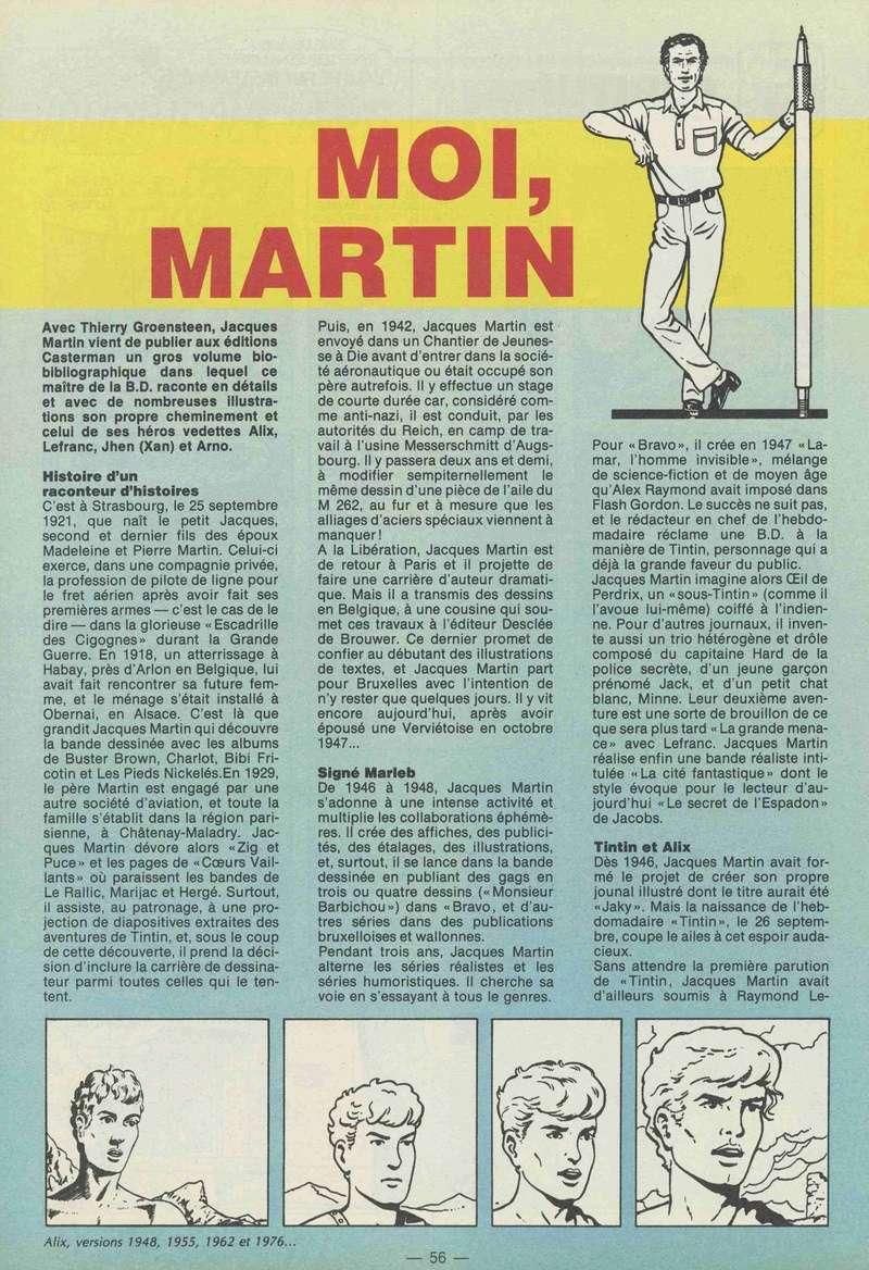 Interview, fanzines et articles divers sur Jacques Martin - Page 5 1984-211
