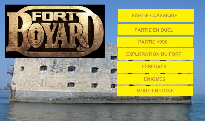 Idées pour créer adaptations de Fort Boyard sur Nintendo Switch Interf11