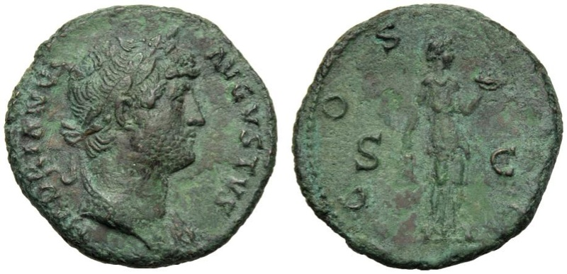 AS de Adriano - COS III, S-C, Fides - Roma 15927610