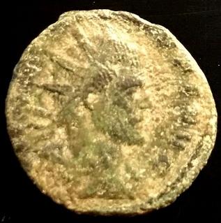 Antoniniano de Claudio II - SPES PVBLICA - Milan Img_5212