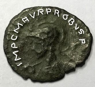 Antoniniano de Probo - VIRTVS PROBI AVG - Siscia Img_5214