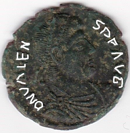 AE3 de Valente. SECVRITAS REI PVBLICAE. Siscia Ir226_10