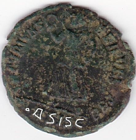 AE3 de Valente. SECVRITAS REI PVBLICAE. Siscia Ir226_11