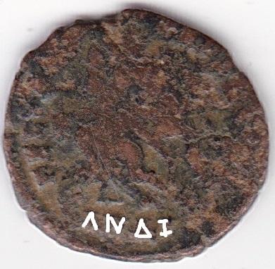 AE4 de Juliano II. FEL TEMP REPARATIO. Soldado romano alanceando a jinete caído. Antioch. Ir264b10