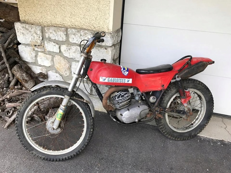 Restauration Montesa Cota 247 MK3 1971 23113511