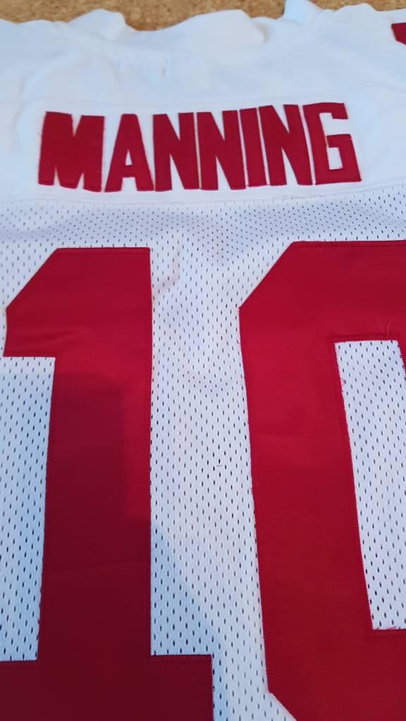 How legit is this Eli Manning SB 42 Jersey? Mannin12