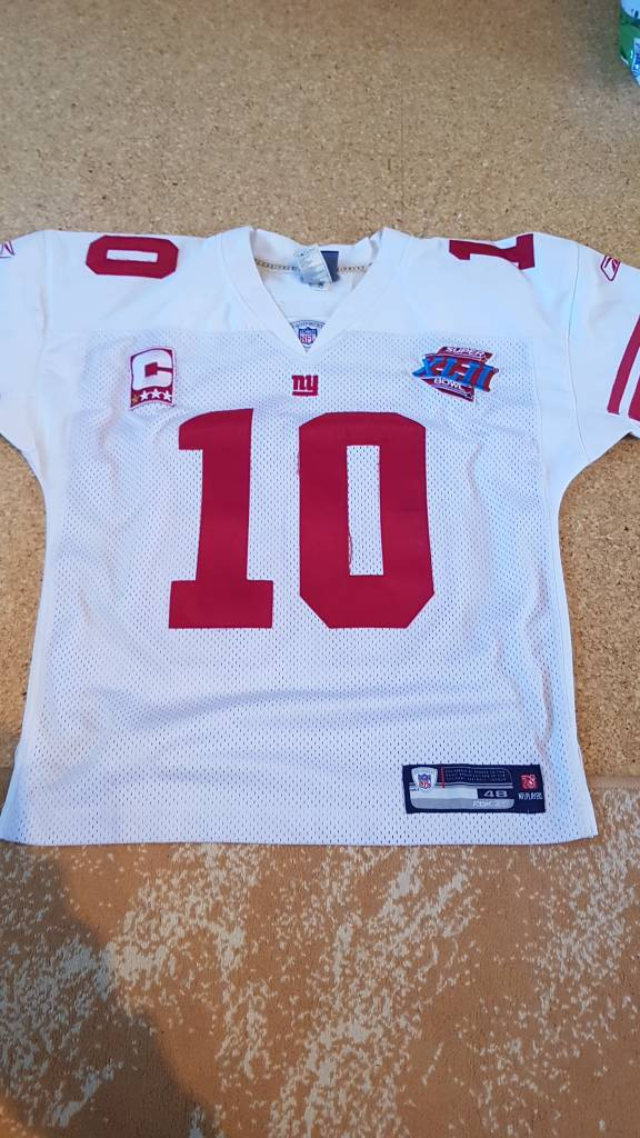 How legit is this Eli Manning SB 42 Jersey? Mannin13