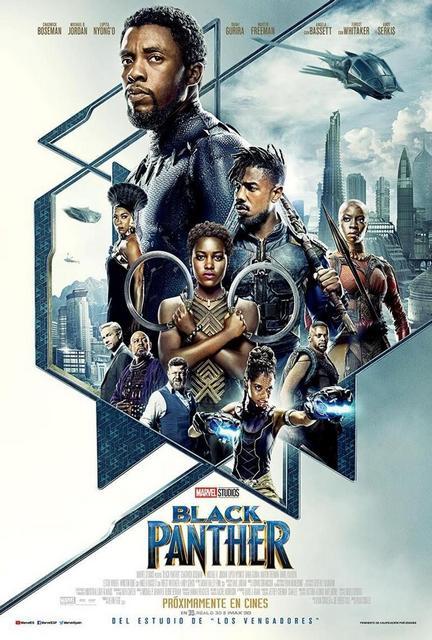 Black Panther (2018) [Ver Online] [Descargar]  [HD 1080p] [Español-Inglés] [Acción] Black_11