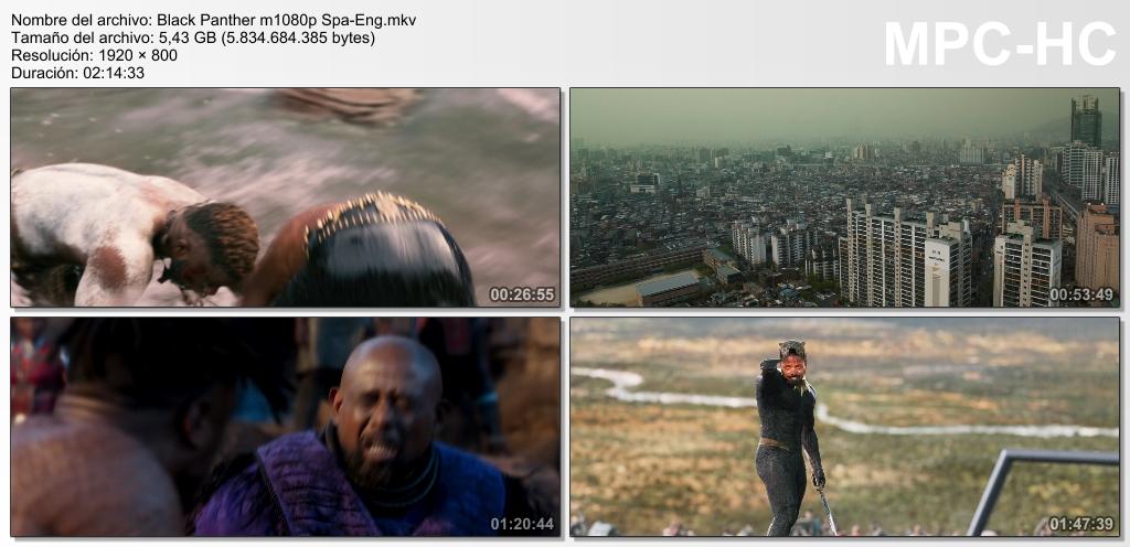 Black Panther (2018) [Ver Online] [Descargar]  [HD 1080p] [Español-Inglés] [Acción] Black_12