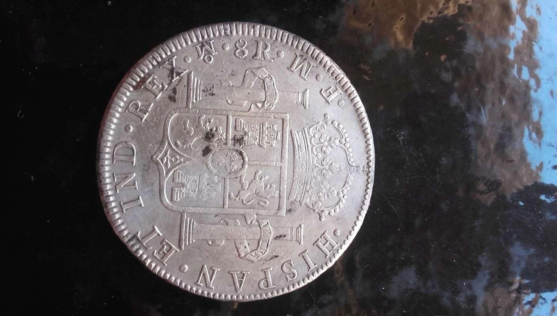CARLOS III 8 REALES MEXICO 1773 FM Ciii_r10