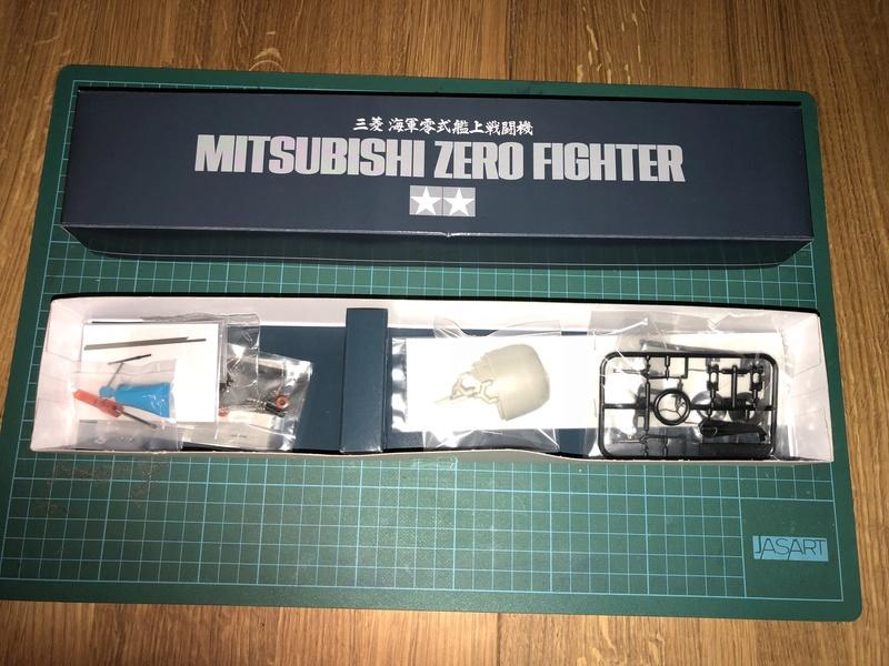 Tamiya Mitsubishi A6M5 ZERO Mod 52 1/32 11411