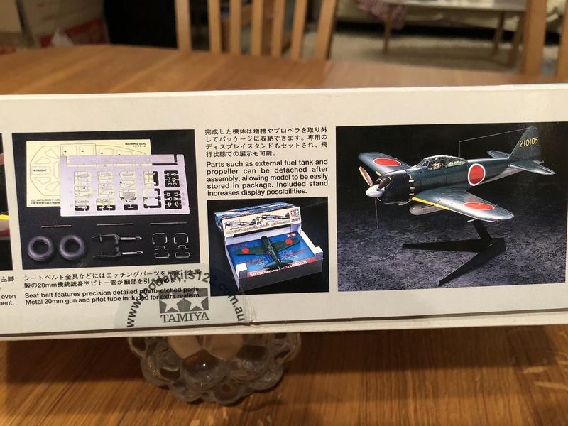 Tamiya Mitsubishi A6M5 ZERO Mod 52 1/32 12611