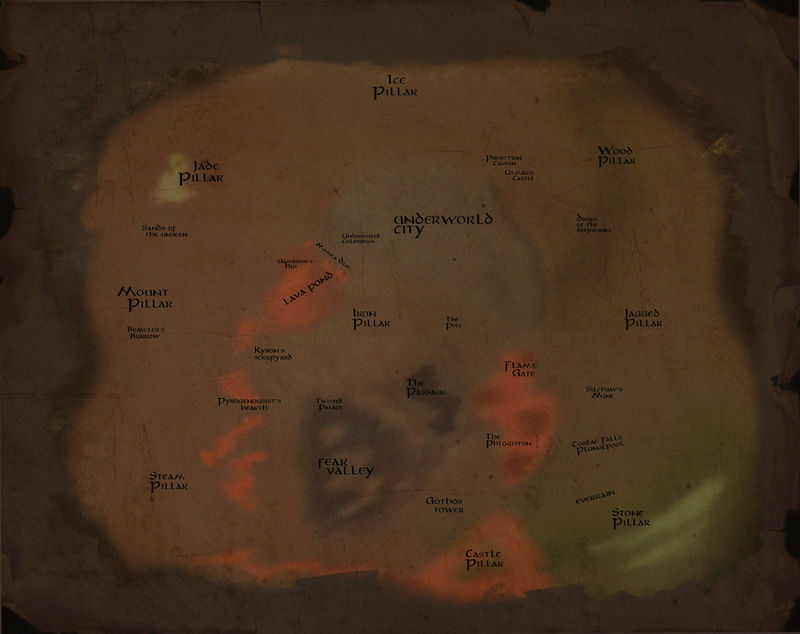 Is there a map of Perim? Underw10