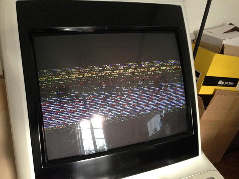 Astro city écran noir + interférence (le classique) Img_8311