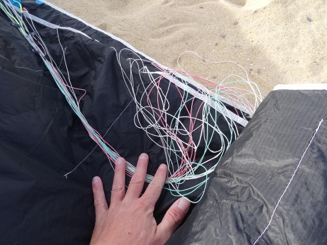 Comment ranger ses lignes de bridage quand on déconnecte Dsc00819