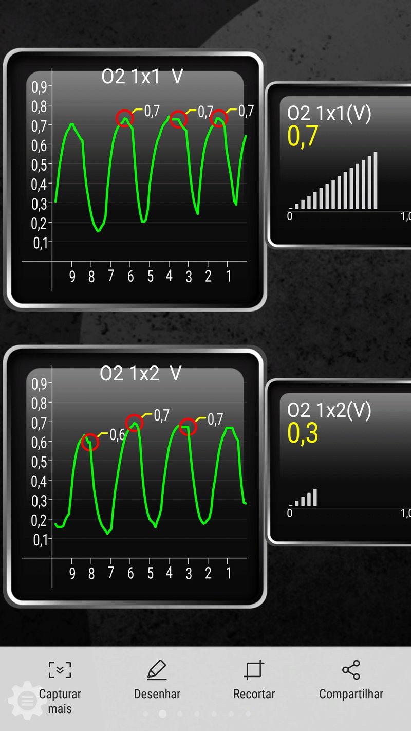 Erro P0420: Perda de eficiência do catalisador Screen11