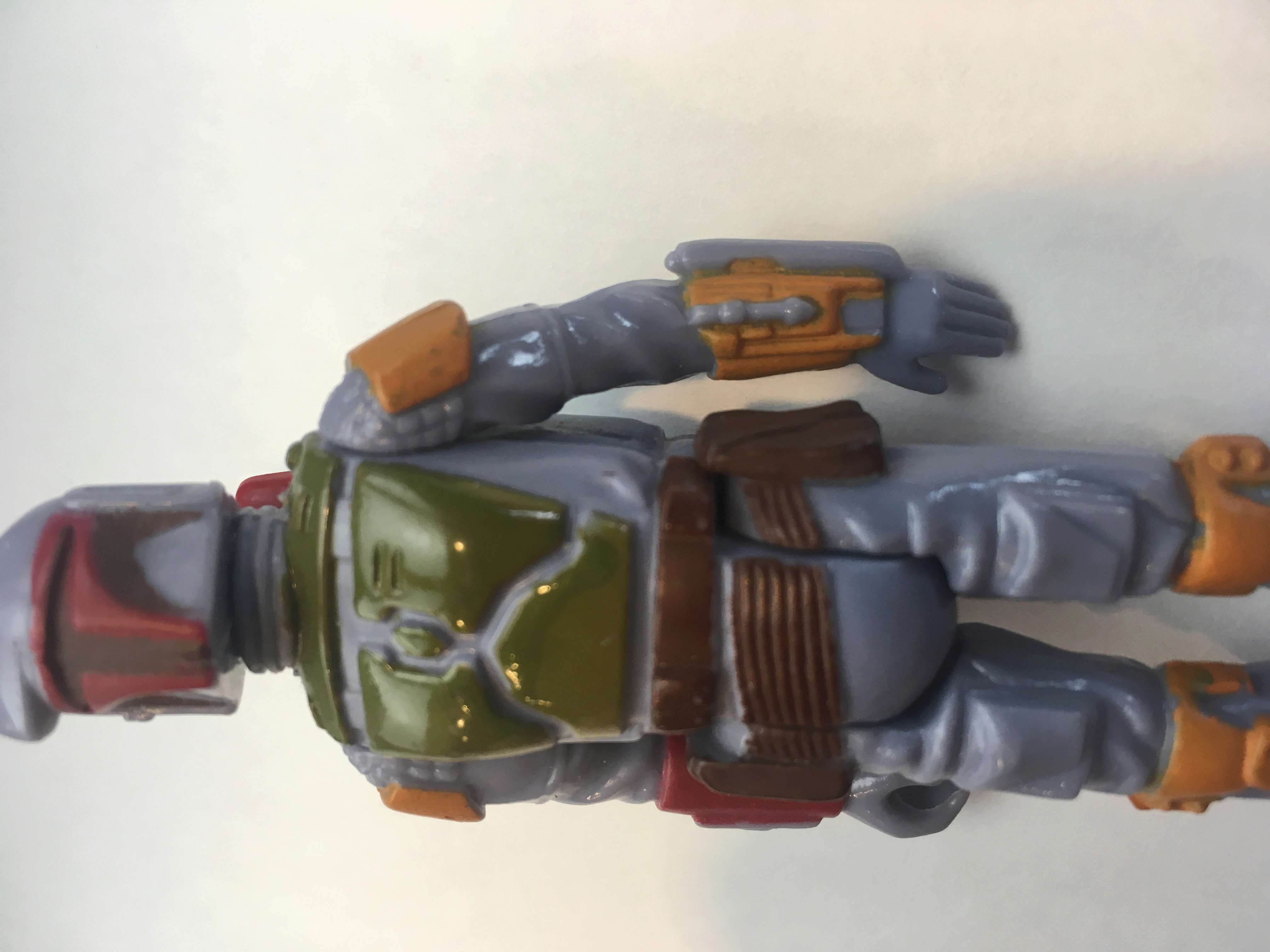 Boba Fett with paint brush marks  4a2db410