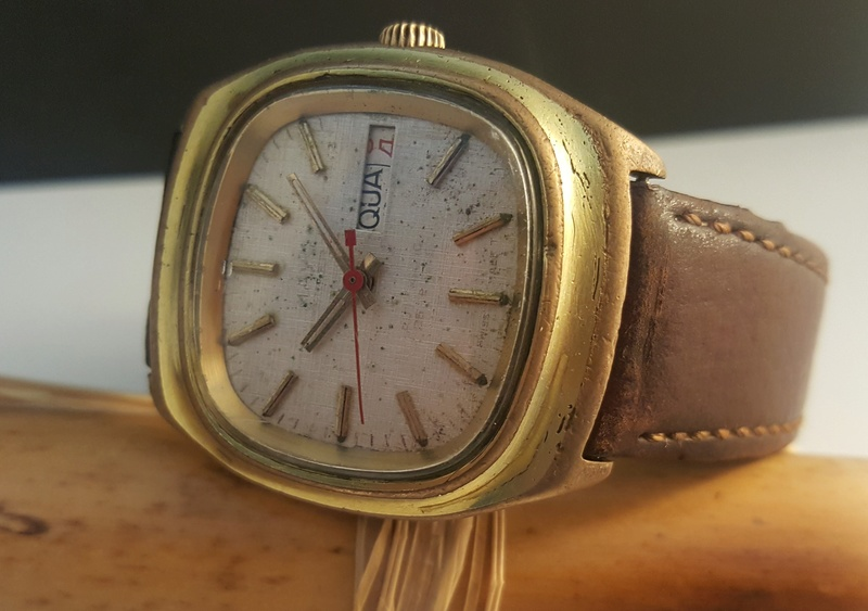 [Vendido On-Line] Relógio Vintage MAYO Automático - Day-Date - ETA 2789 : 25J - 100% Funcional mas p/ restauro 0114