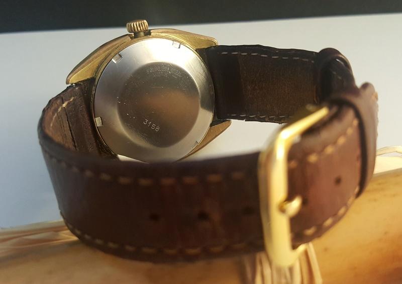 [Vendido On-Line] Relógio Vintage MAYO Automático - Day-Date - ETA 2789 : 25J - 100% Funcional mas p/ restauro 0512
