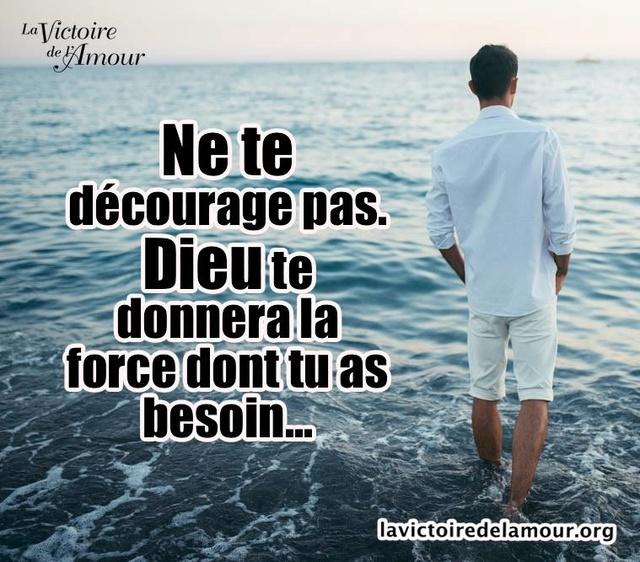 Le Seigneur ne nous laisse pas, ne nous abandonne pas dans nos situations qui semblent si désespérées Deicou10
